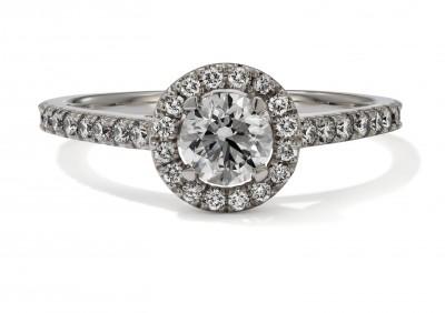 Hans D. Krieger Ring Solitaire