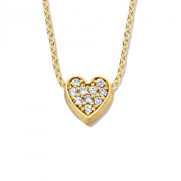 Halsschmuck One Diamond Heart