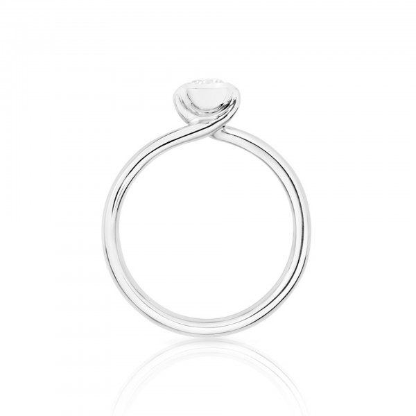 Ring Bouton Solitaire