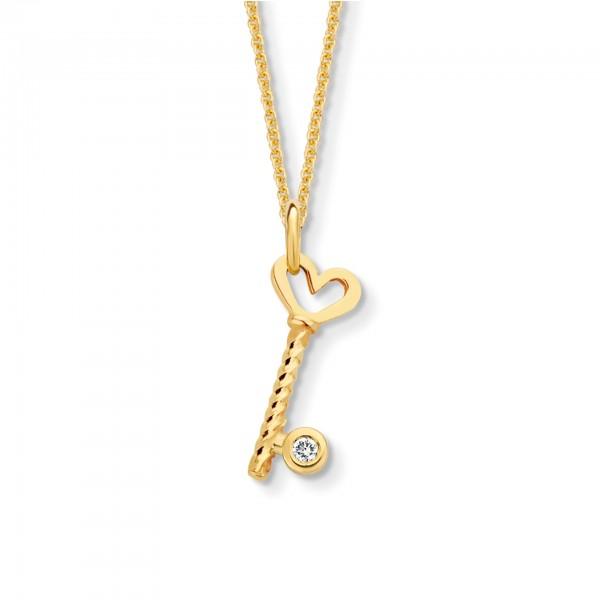 Halsschmuck One Diamond Key